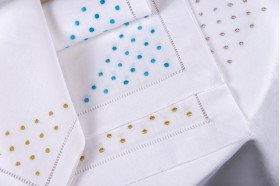 Pois Embroidered Tablecloth