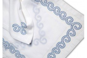 Grand Large Embroidered Napkin