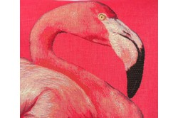 Flamingo Jacquard Cushion