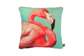 Flamingo French Tapestry Pillow