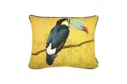 Toucan French Tapestry Pillow