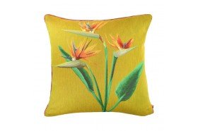 Birds of Paradise Trio French Tapestry Pillow