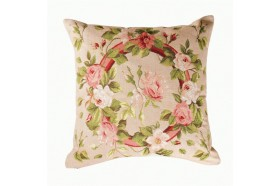 Romantic Roses Tapestry Pillow