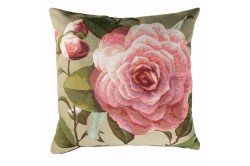 Camelia flower French Luxury Tapestry Pillow