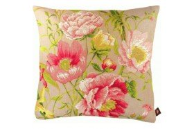 Peonies Luxury French Tapestry Pillow