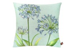 French Agapanthus Chic Tapestry Pillow