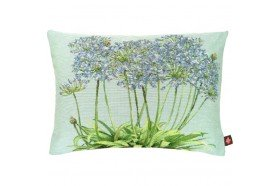Agapanthus Flowers French Tapestry Pillow