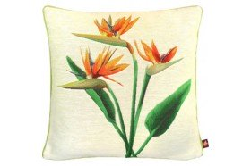 Birds of Paradise Trio 2 French Tapestry Pillow