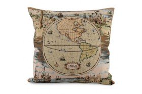 Americas Discovery French Tapestry Pillow