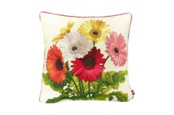 Daisies Bouquet French Tapestry Pillow
