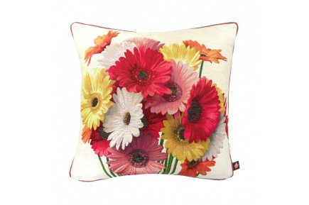 Daisies French Tapestry Pillow