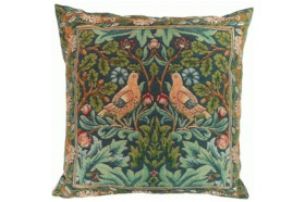 Bird Duo French Tapestry Pillow