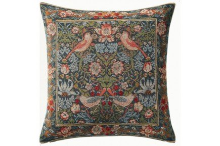 Birds Fantasy French Tapestry Pillow