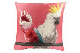 Cockatoo Exotic bird Luxury Tapestry Pillow