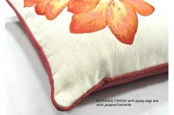 White umbels Luxury Tapestry Pillow