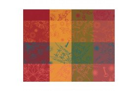 Mille Alcees  Summer Coated Placemat