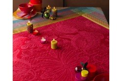 Isaphire Luxury French Tablecloth by Garnier-Thiebaut