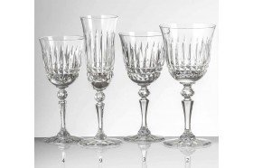 Seville Collection Luxury French Crystal Glassware