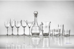 Carlton Luxury French crystal glassware