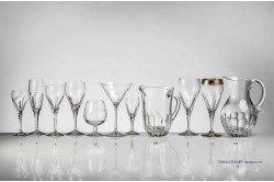Longchamps French Luxury crystal glassware