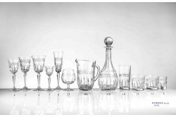 Florence French Luxury crystal Champagne flutes