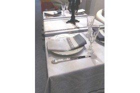 Galerie des Glaces silver luxury French napkins Garnier-Thiebaut