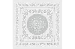 Comtesse white luxury napkins by Garnier-Thiebaut