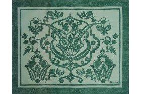 Saint Tropez Emerald Placemat by Beauvillé
