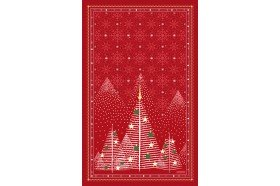 Megeve Red French Tea Towel by Beauville