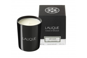 Lalique Vetiver luxury scented candles