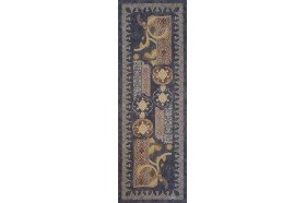 Rialto Steel Blue Table Runners by Beauvillé