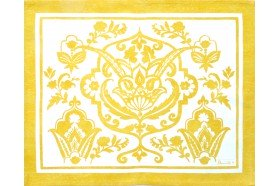 Saint Tropez Yellow French Placemat by Beauvillé