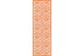 Saint Tropez Mandarin Orange Table Runner by Beauville