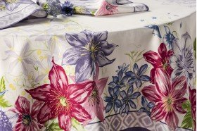 Rivoli French luxury Tablecloth by Beauville