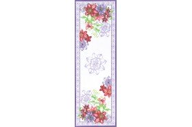Rivoli French luxury table runner by Beauville