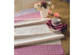 Mille Symphorine French fine Table Runners Garnier-Thiebaut