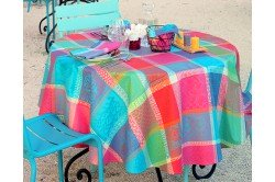 Mille Wax Cocktail French tablecloth by Garnier-Thiebaut