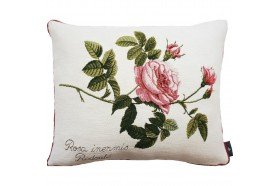 Rosa Inermis luxury Tapestry decorative Pillow and Cushion by Art de Lys