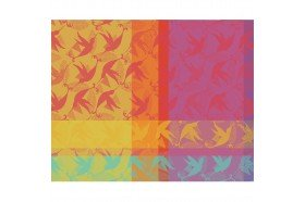 Mille Colibris French Table Placemats by Garnier-Thiebaut