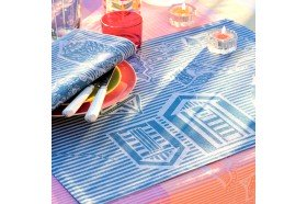 Mille Eole Marin French Table Placemats by Garnier-Thiebaut