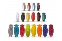 Blue Provencal Ceramic Cicada lucky charm by Louis Sicard