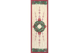 Holiday Jour de Fete Table Runner French Christmas table linens