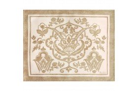 Saint Tropez Sand Placemats French table linens by Beauville
