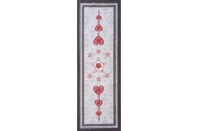 L'Hiver Winter Joy French Christmas Table Runner