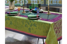 Plaisirs d'Automne Muscat French luxury Tablecloth by Garnier-Thiebaut