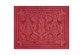Marella Red French placemat by Beauvillé