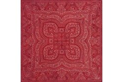 Marella Red French napkins by Beauvillé