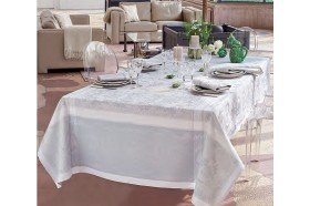 Lysandra Mist Tablecloth