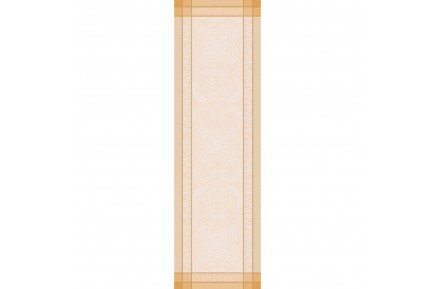 Persina Gold luxury Table runner made in France by Garnier-Thiebaut