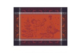 Chant de Noel placemats and table linens by Garnier-Thiebaut